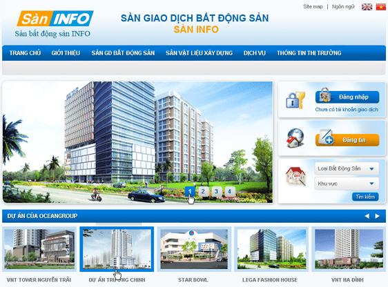Thiết kế website bất động sản tại Biên Hòa