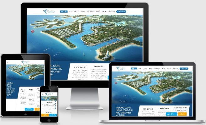 Website bất động sản đẹp