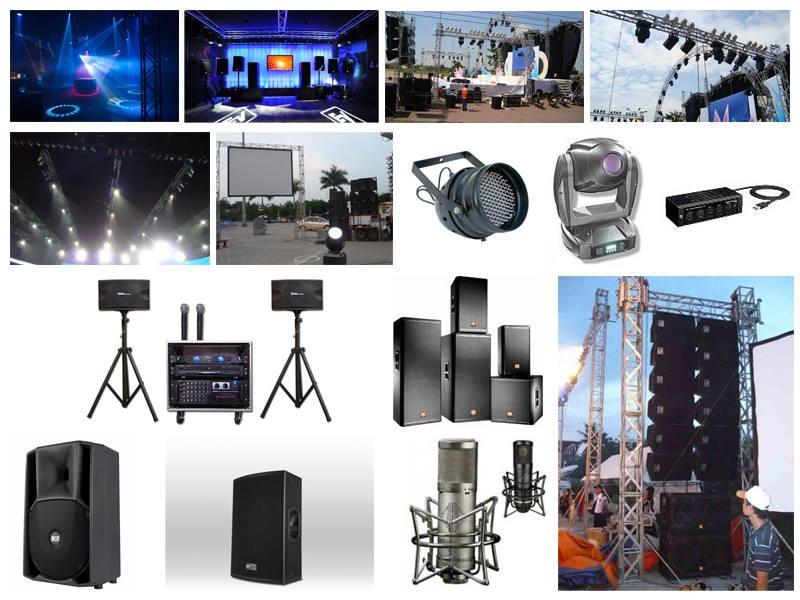 Cho thuê thiết bị âm thanh & ánh sáng tại biên hòa