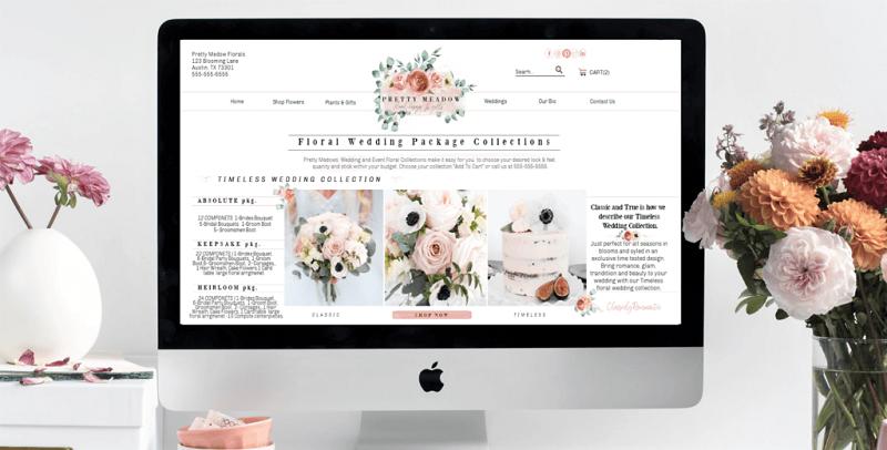 Thiết kế web bán hoa tươi đẹp